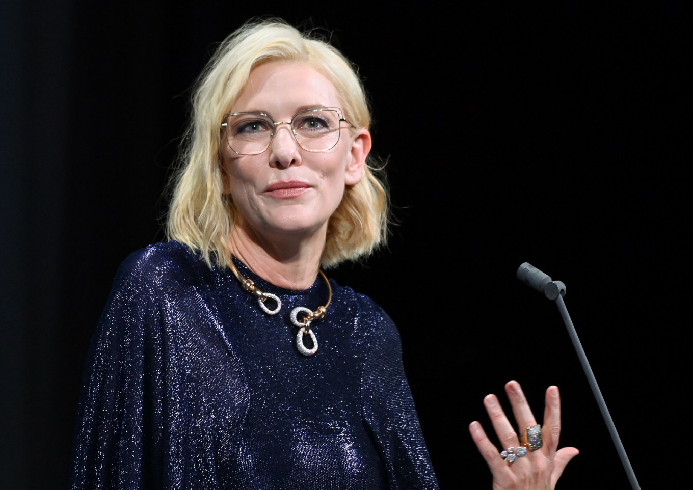 Don T Call Me An Actress Says Cate Blanchett Entertainment The Jakarta Post