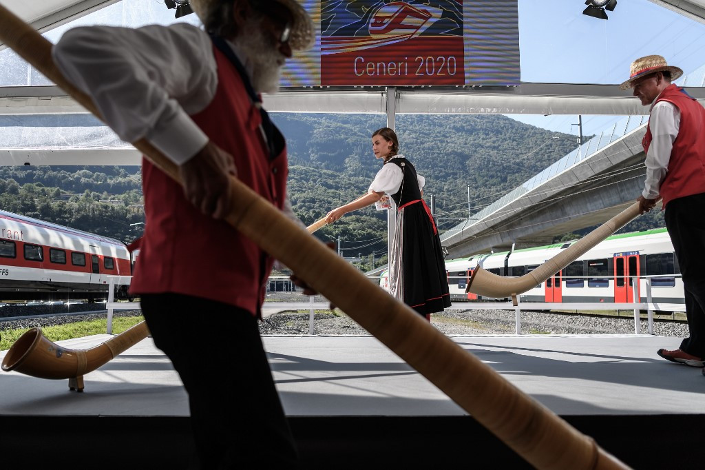 New Swiss Alps tunnel set to transform Europe's rail links