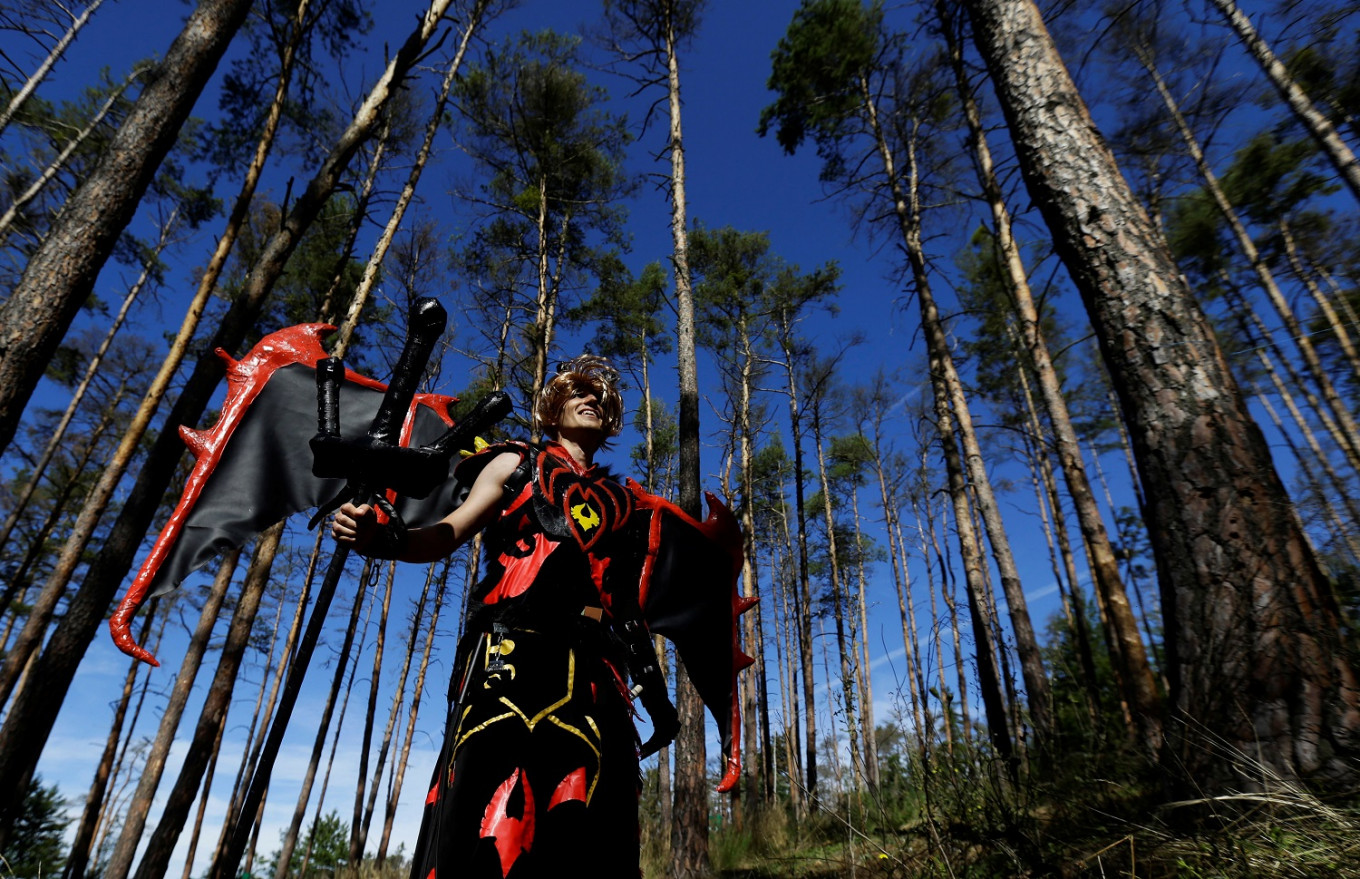 After COVID delay, World of Warcraft comes to life in a Czech forest