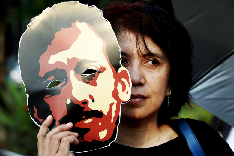 Human rights activists urge Komnas HAM to treat Munir's murder as extraordinary case