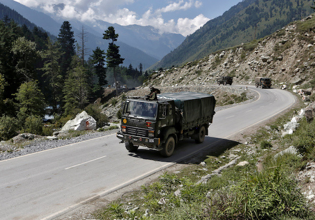 Indian and Chinese troops man remote Himalayan outposts just hundreds of meters apart