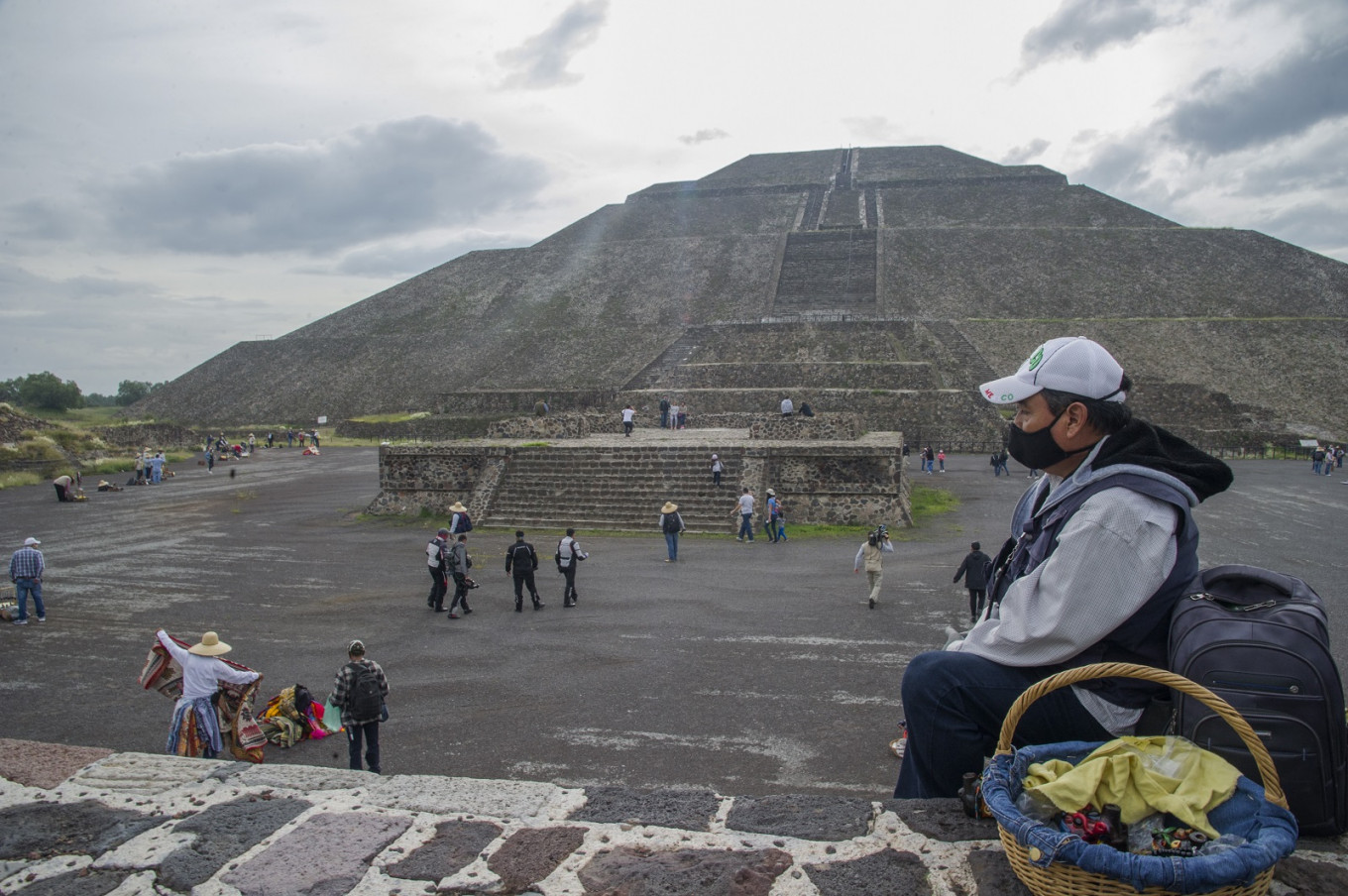 Tourists return to Mexico's ancient 'City of Gods'