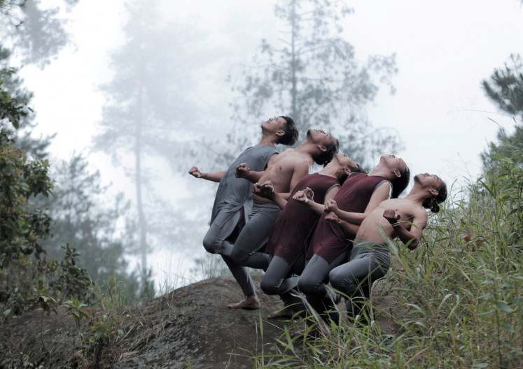 Dance on: Riyo Tulus Pernando, an Indonesian choreographer and dancer from Riau Islands, will present a recorded version of his 2018 piece 'Sosak' at Komunitas Salihara's online festival.