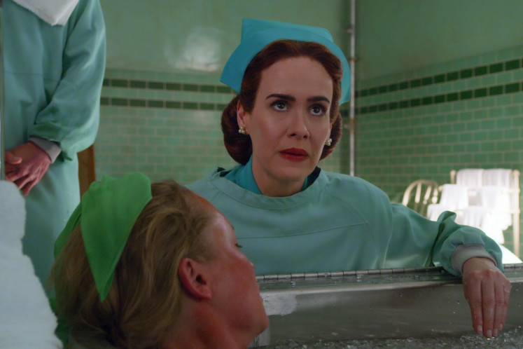 Sarah Paulson as nurse Mildred Ratched in 'Ratched'