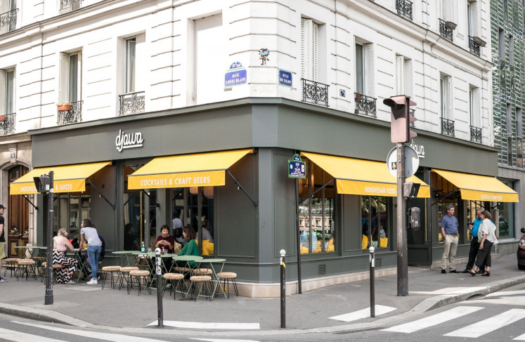 Indonesian flavor: Starting as a catering business in 2010, Djawa opened its doors in 2012 and has since expanded to five locations in the Paris city center.