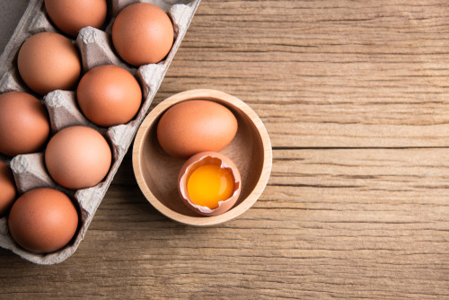 Eggs, cream and sugar: The ingredients of your new beauty routine