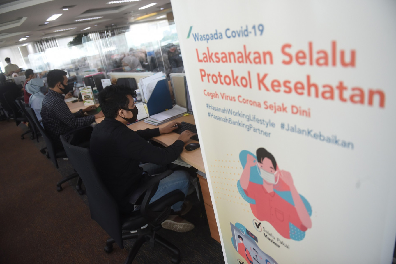 Eight Jakarta Workplaces Closed On First Day Of Psbb Wed September 16 2020 The Jakarta Post