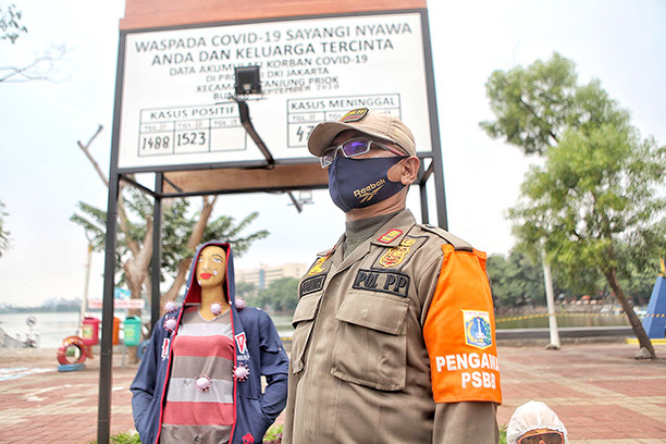 Indonesia confirms nearly 4,000 new COVID-19 cases, another daily record