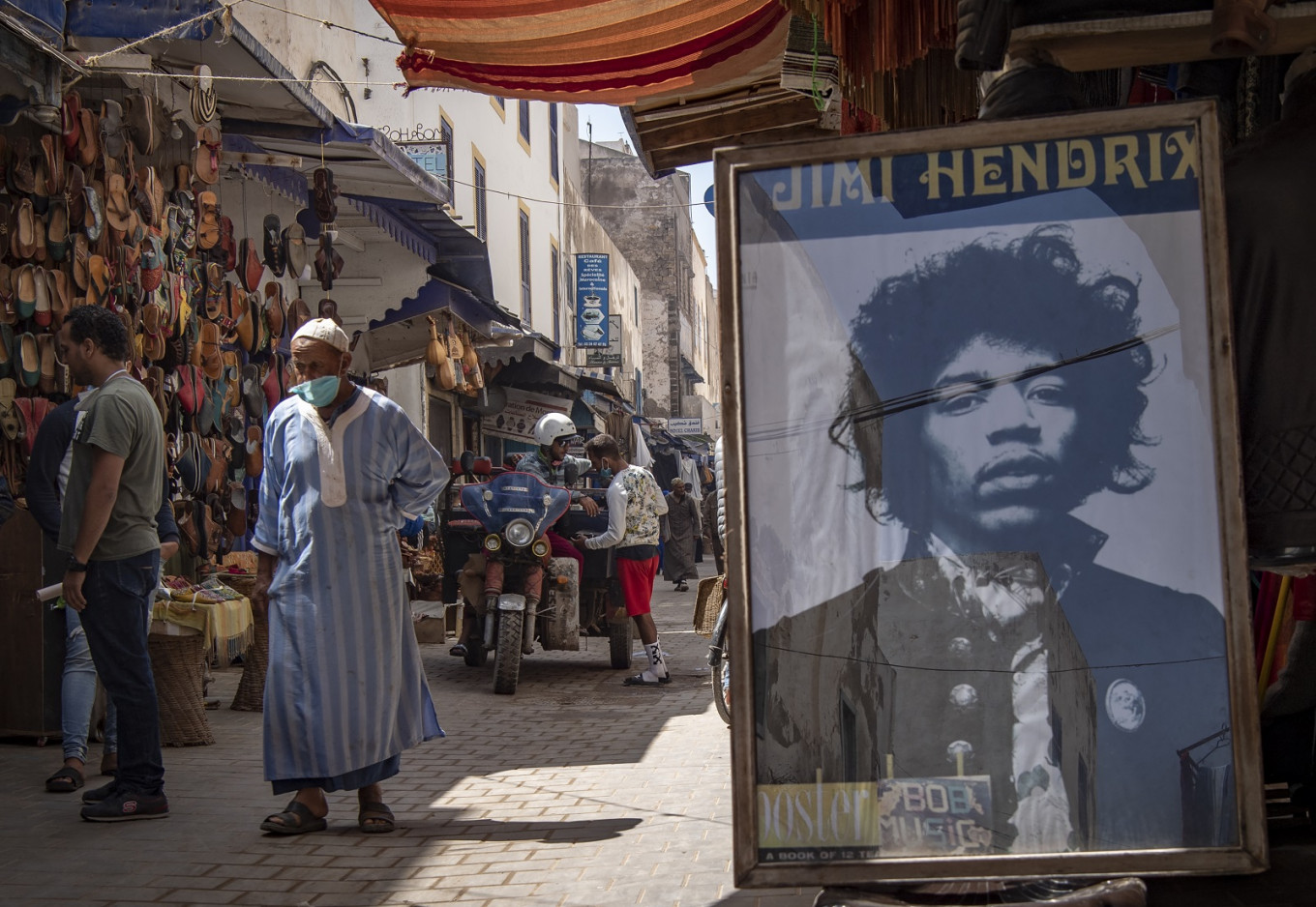 Moroccan village riffs on Hendrix legends and myths