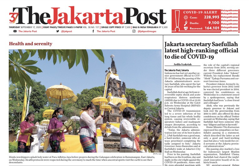 'The Jakarta Post', 'Kompas' to participate in Google's Subscription Lab
