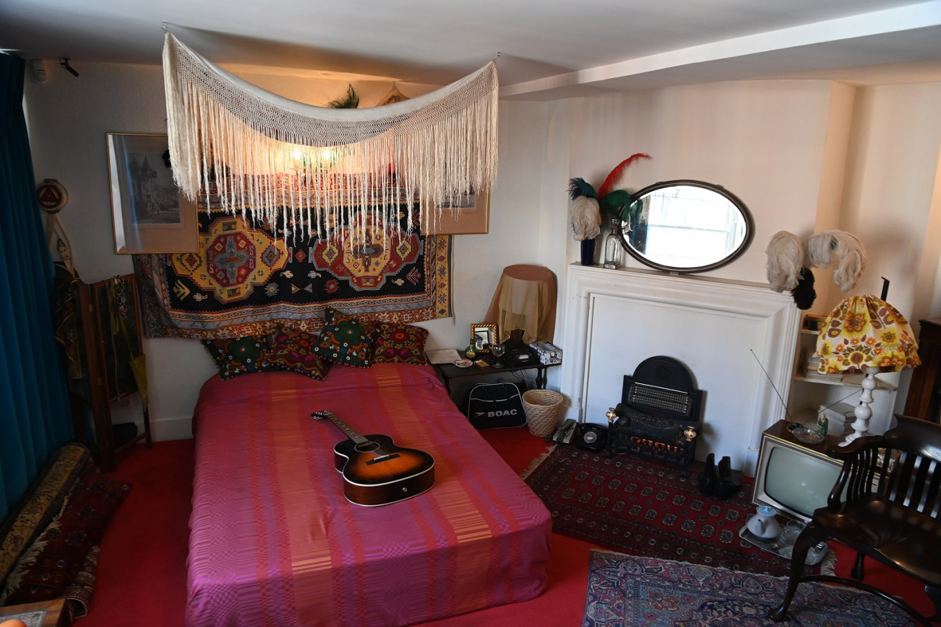 Bohemian chic: Hendrix at home 50 years on