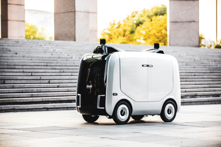 Alibaba launched a last-mile delivery robot called Xiomanlv on Thursday. The robot aims to assist in the delivery of packages to campuses and business parks in China.