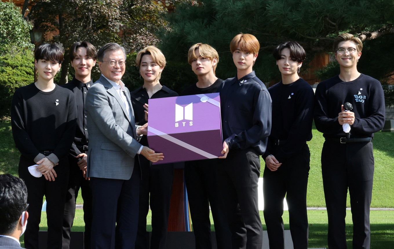K-pop juggernaut BTS talks road to success on South Korea's Youth Day