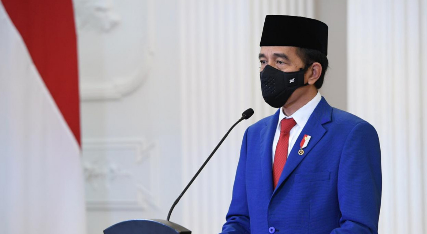 Seven ambassadors submit letters of credence to Jokowi