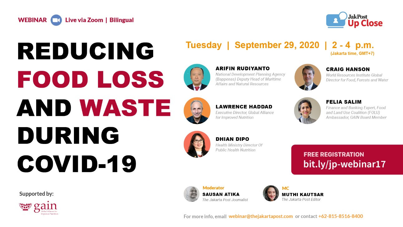 Reducing food loss and waste during COVID-19