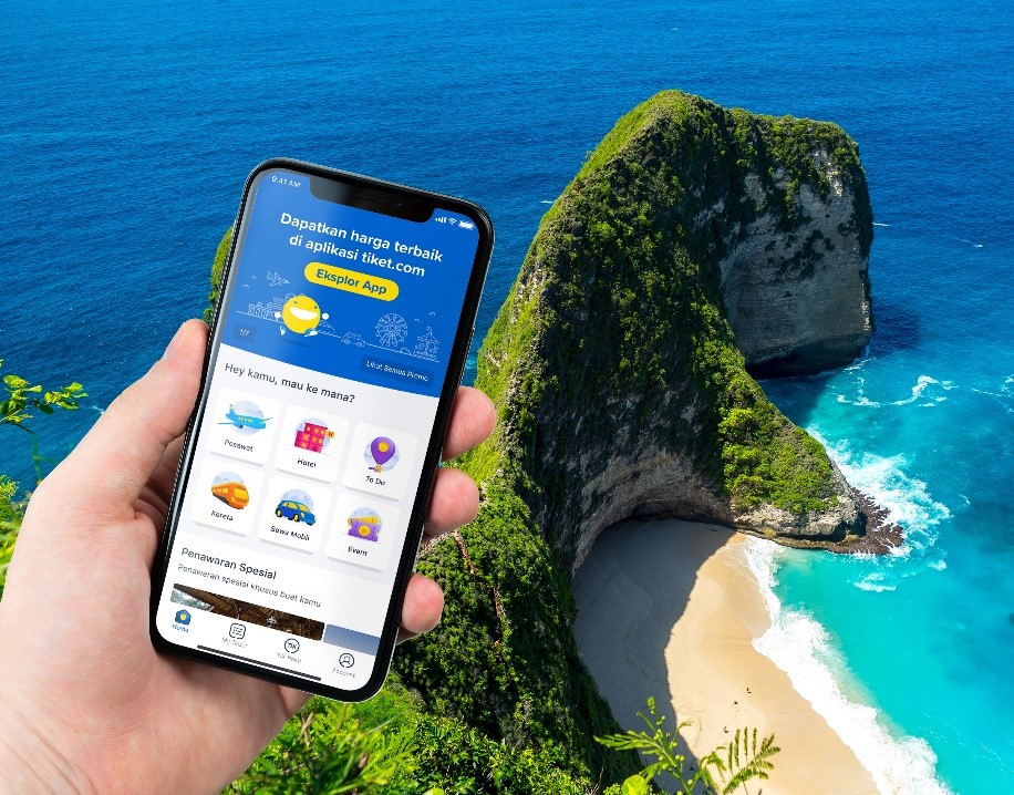 Tiket.com supports Bali tourism revival by providing wash basins at tourist sites