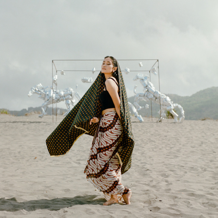 Desert dance: An artist and researcher from Yogyakarta, Sekar Sari is the star of the web series' second episode.