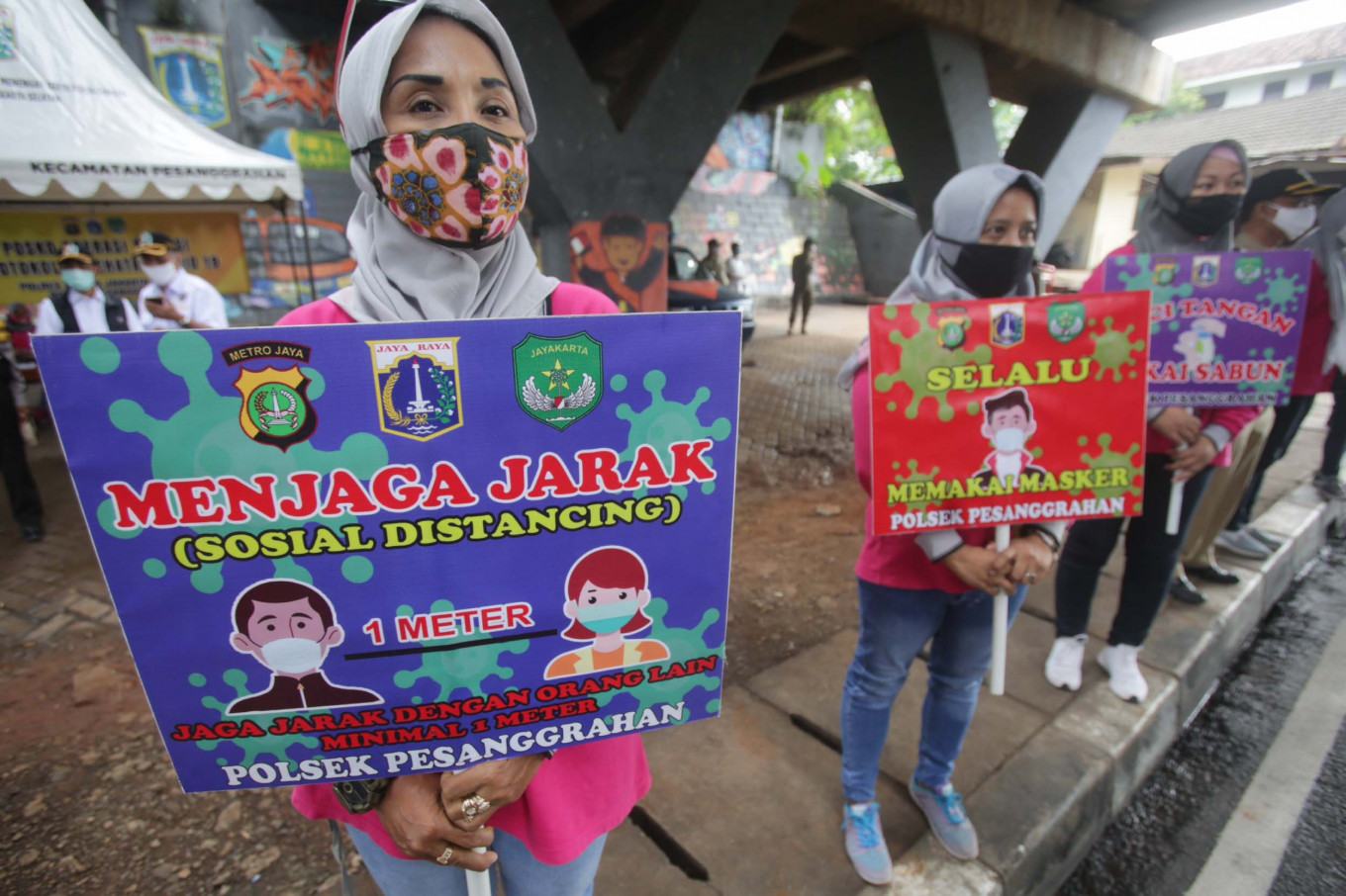 Without Psbb Jakarta Would See 20 000 Active Covid 19 Cases By November Anies City The Jakarta Post