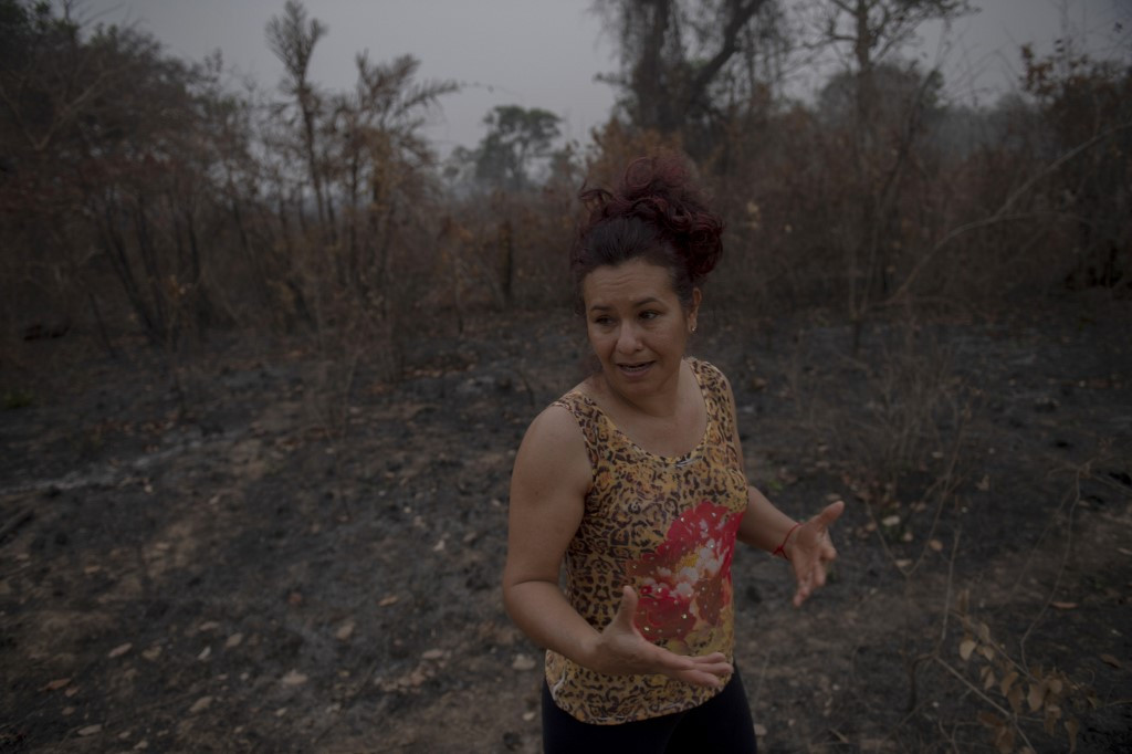 Ecotourism gem reduced to ashes as Brazil wetlands burn
