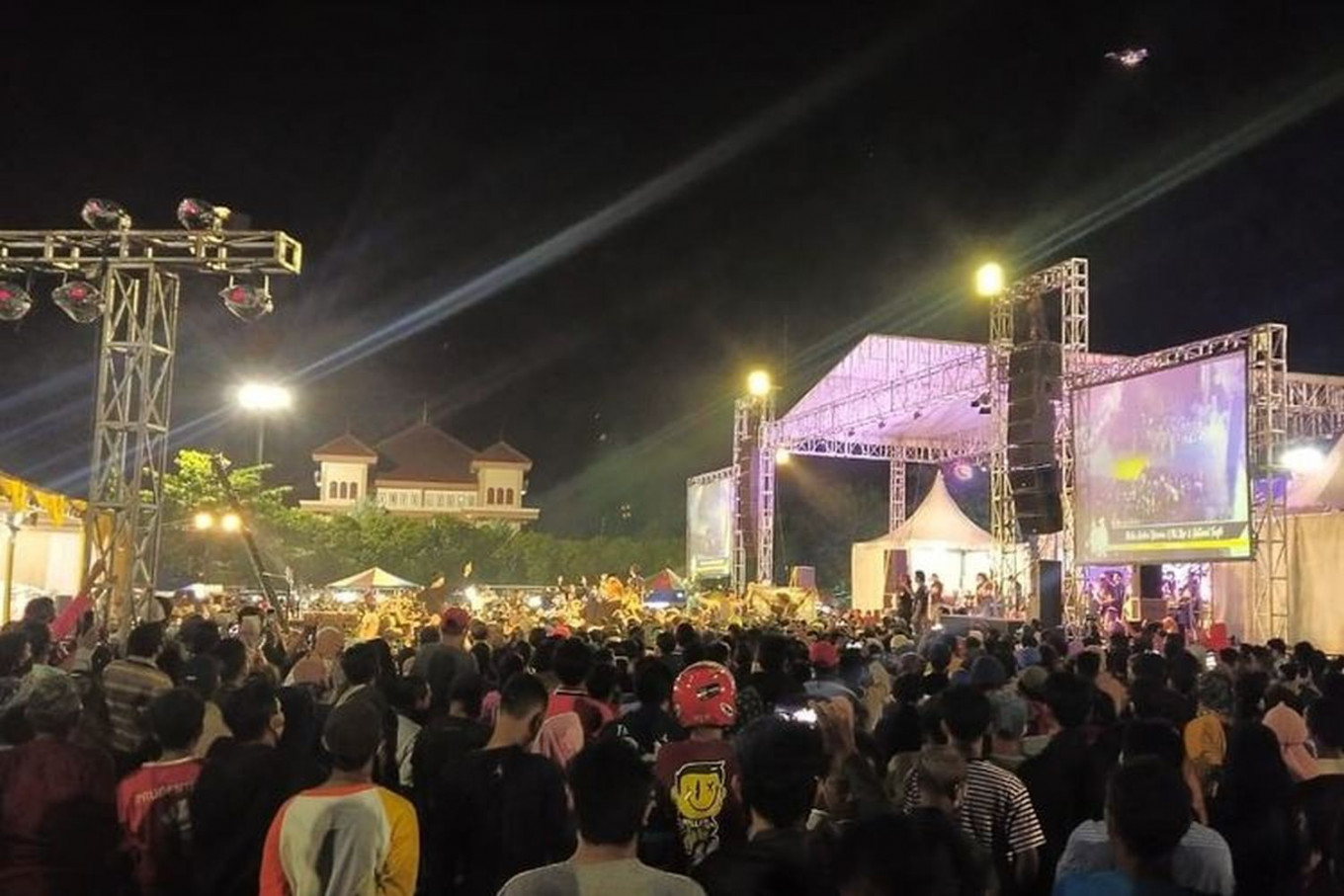 Tegal Council deputy speaker named suspect for holding crowded concert