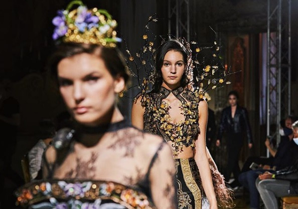 Indonesian fashion house highlights batik at Milan Fashion Week