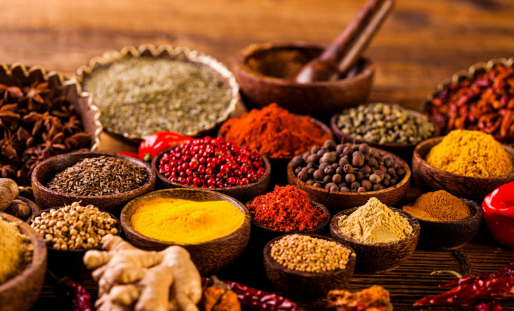 Hot stuff: Indonesia has been known throughout history for its plethora of spices.