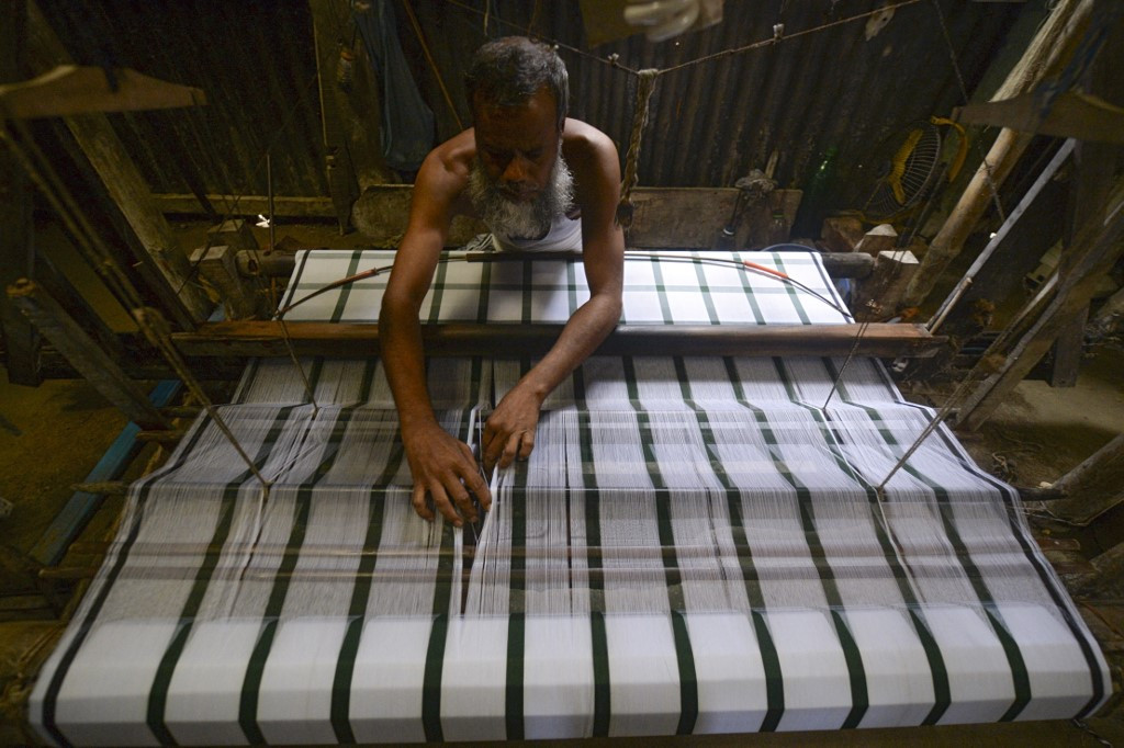 Bangladesh's traditional weavers hanging by a thread as factories boom