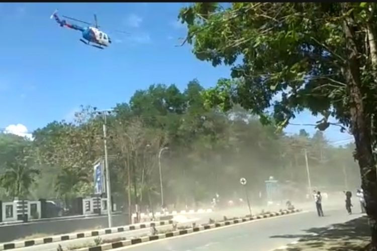 Police violated procedures by using helicopter to disperse rally: Ombudsman