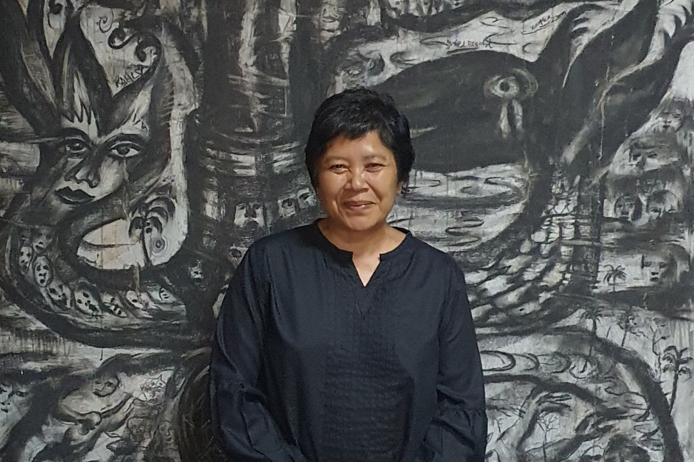 A path forward for Indonesian art during troubled times: Dialogue with Andonowati