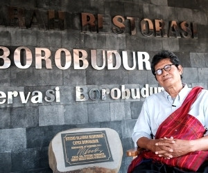 'Borobudur is my teacher': Meet the man who spent his life documenting a world h...
