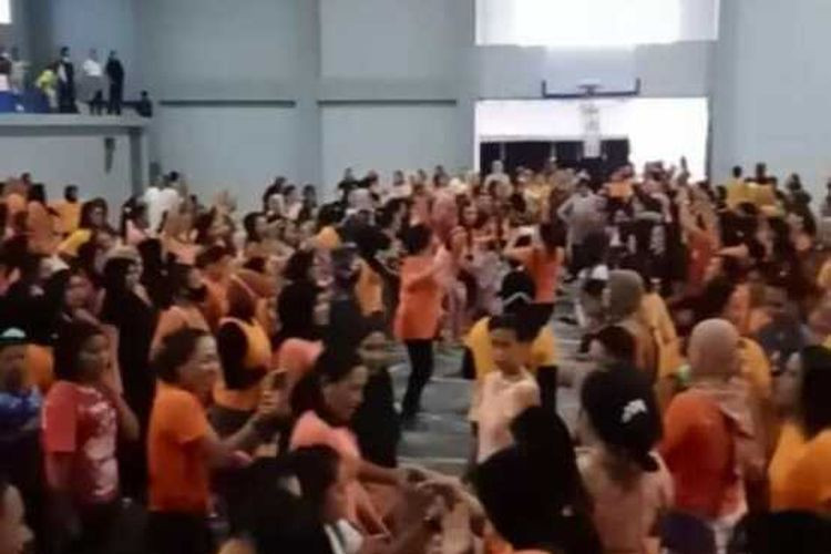 Zumba class organizer in East Lombok fined for neglecting COVID-19 protocol