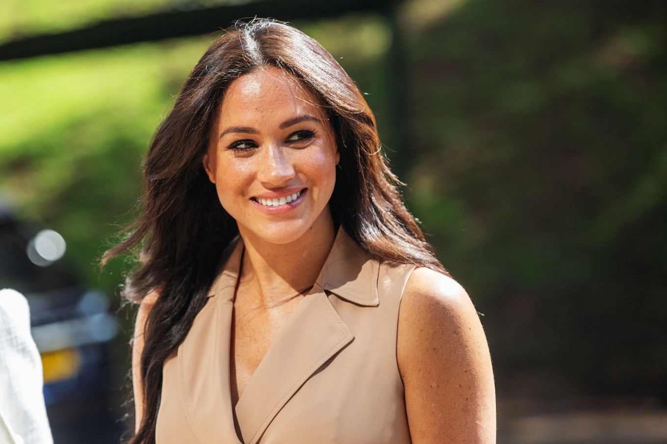Britain's Meghan says she doesn't do social media for 'self-preservation'
