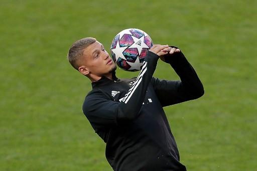 Bayern Munich's French midfielder Michael Cuisance.