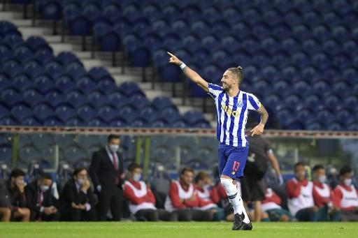 Porto's Brazilian defender Alex Telles.