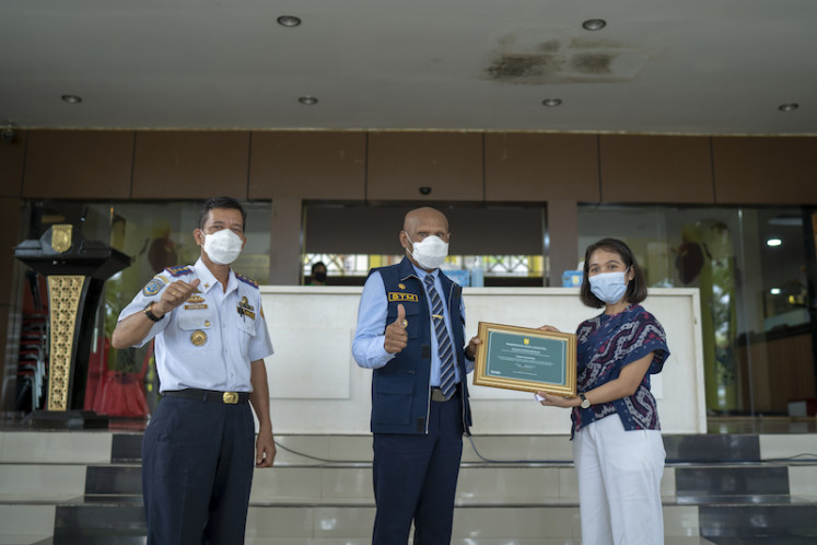 Going further east: GrabProtect, which embodies health and safety protocols through certain in-app features, cleaning equipment and several rules, is finally launched in Jayapura, Papua, in partnership with the city's mayor and administration.
