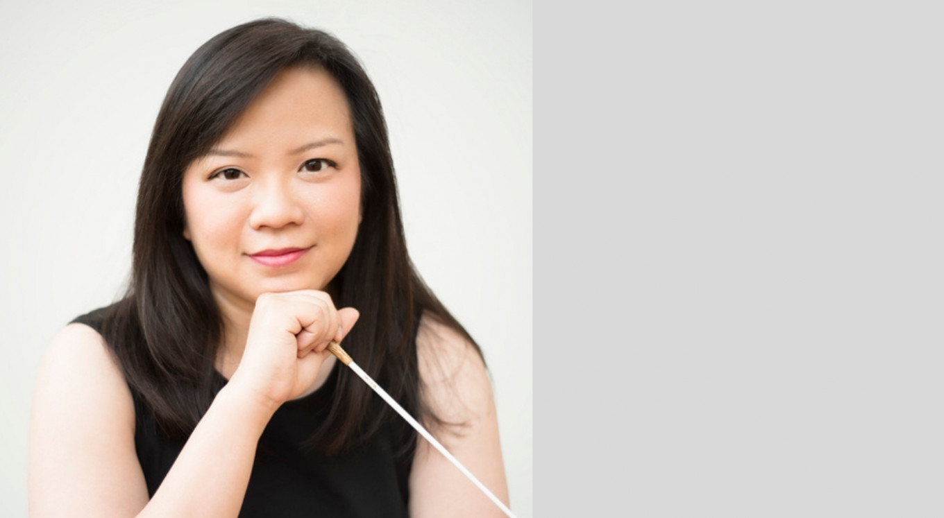 Je suis surpris: Conductor Rebecca Tong talks about her win in La Maestra, women...