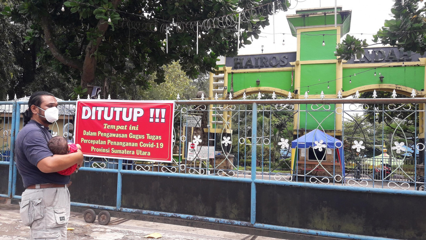 COVID-19: N. Sumatra water park manager named suspect, park closed after pool party