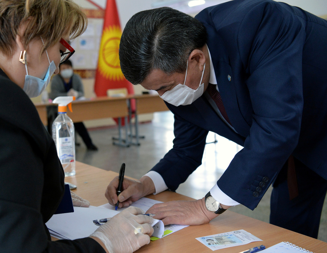 Kyrgyzstan holds election marked by voter disillusion and party splits
