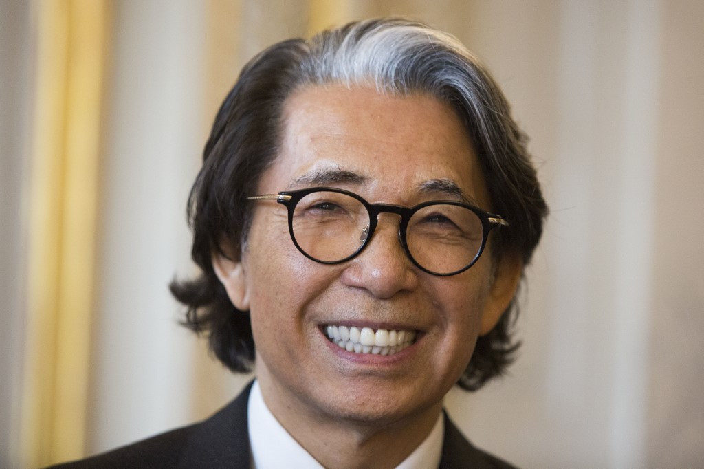 Kenzo Takada, first Japanese designer to conquer Paris fashion, dies aged 81