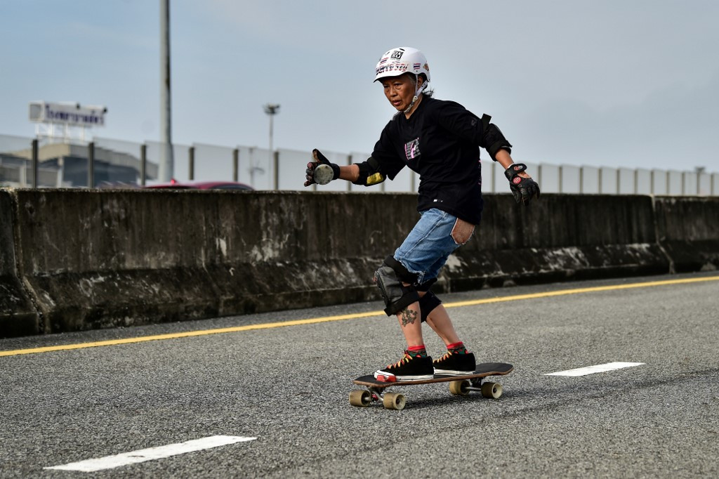 Healing wheels: 63-year-old skates her way to cancer recovery