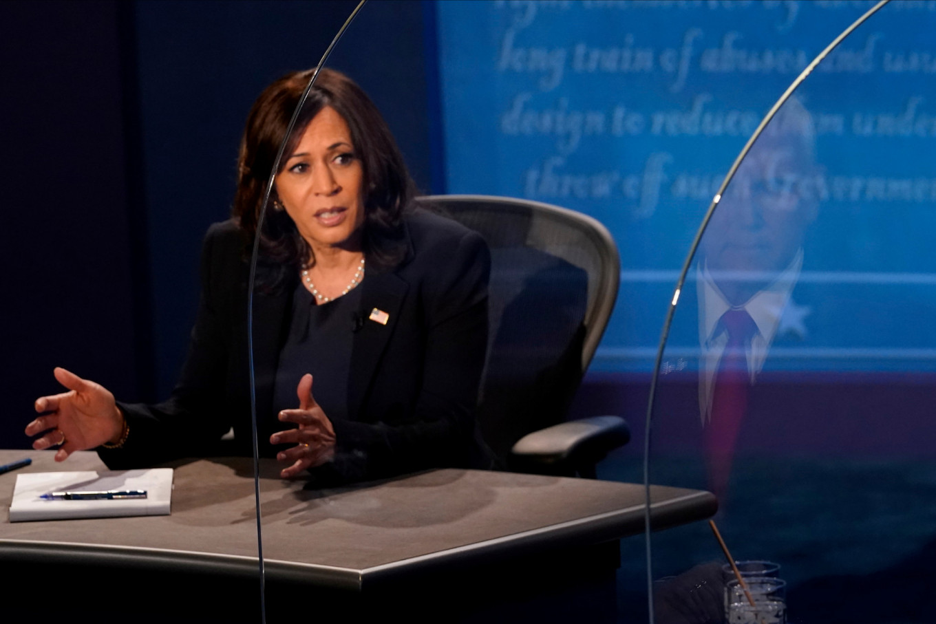Harris blasts US COVID-19 response as 'greatest failure' in presidential history