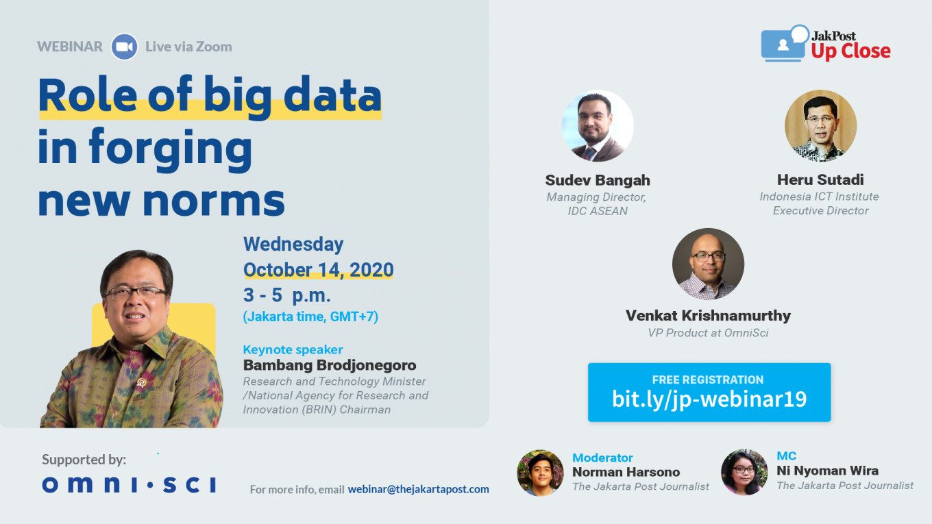 Role of big data in forging new norms