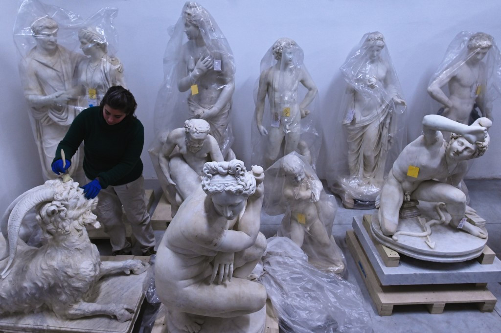 Torlonia collection's ancient sculptures back on show after restoration