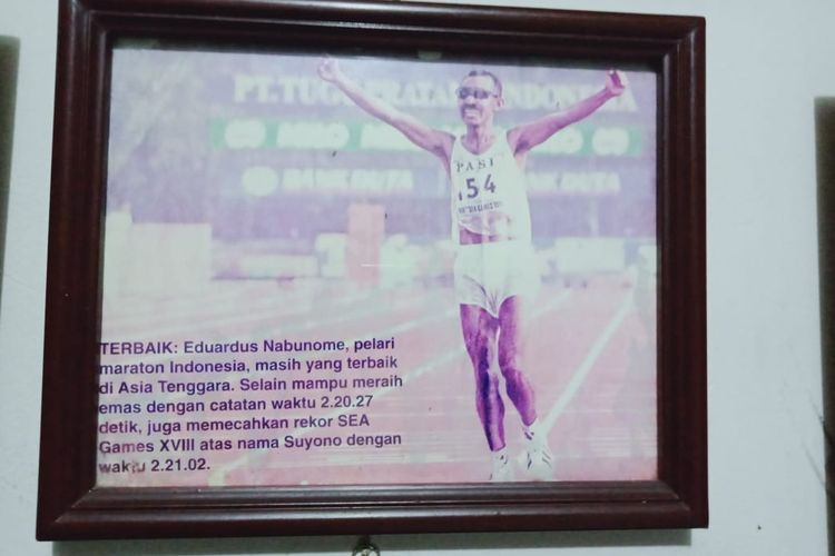 Indonesian track and field legend Eduardus Nabunome dies over heart attack