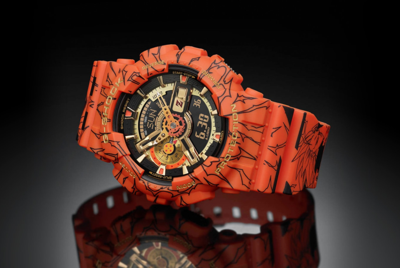 Limited edition G-SHOCK x Dragon Ball Z watch now available in Indonesia