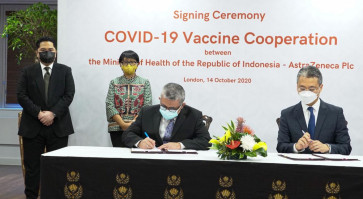 Indonesia to procure 100m doses of candidate vaccine from AstraZeneca