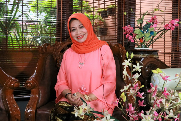 At home: Muslim intellectual Musdah Mulia finds comfort at home while leading a tireless fight for the rights of women and minorities.