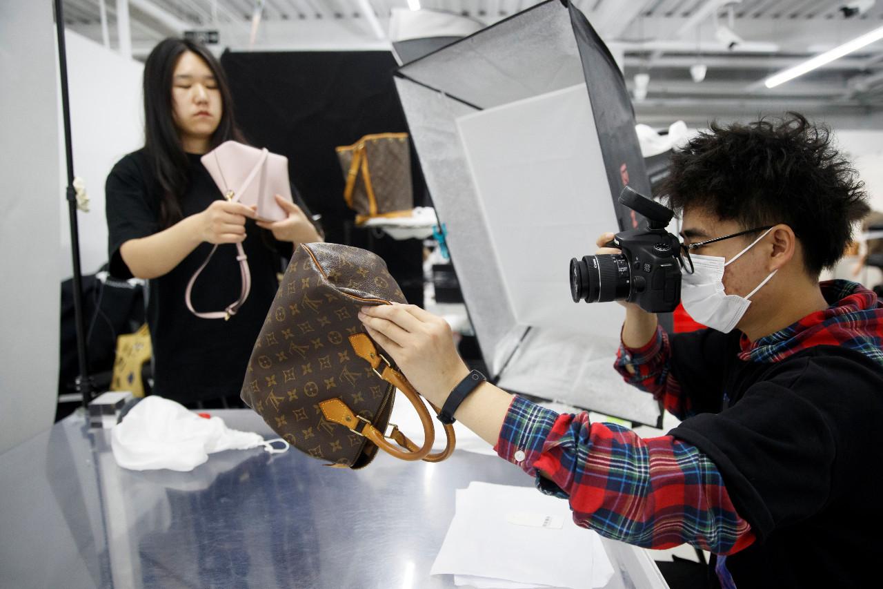 A millennials love affair: China's second-hand luxury goods market booms