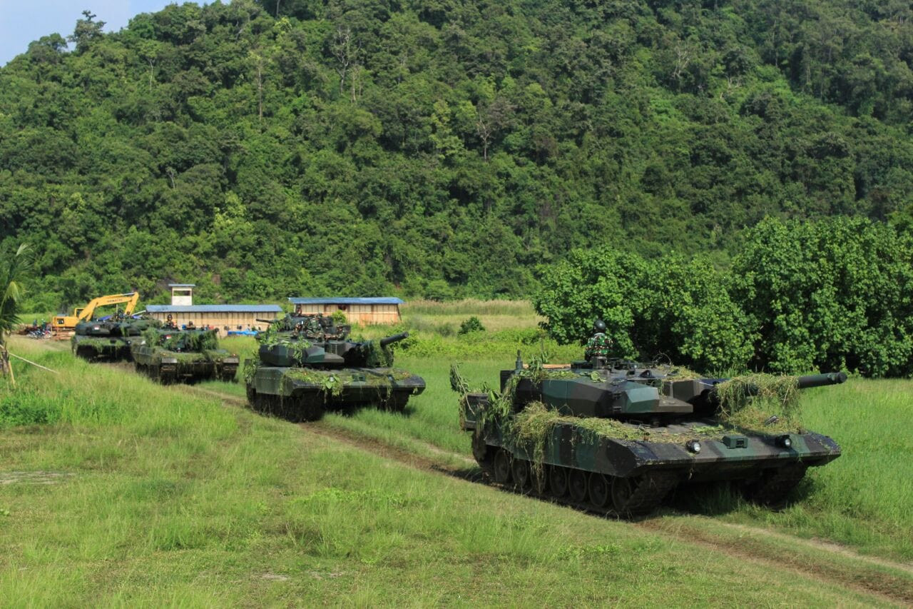 Used 'alutsista': Increasing the Indonesian Army's firepower