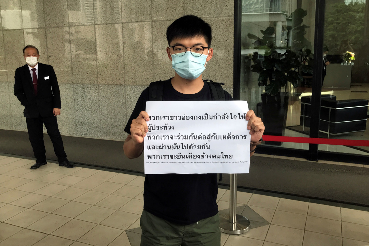 Hong Kong activists rally in support of Thai protesters - World - The  Jakarta Post